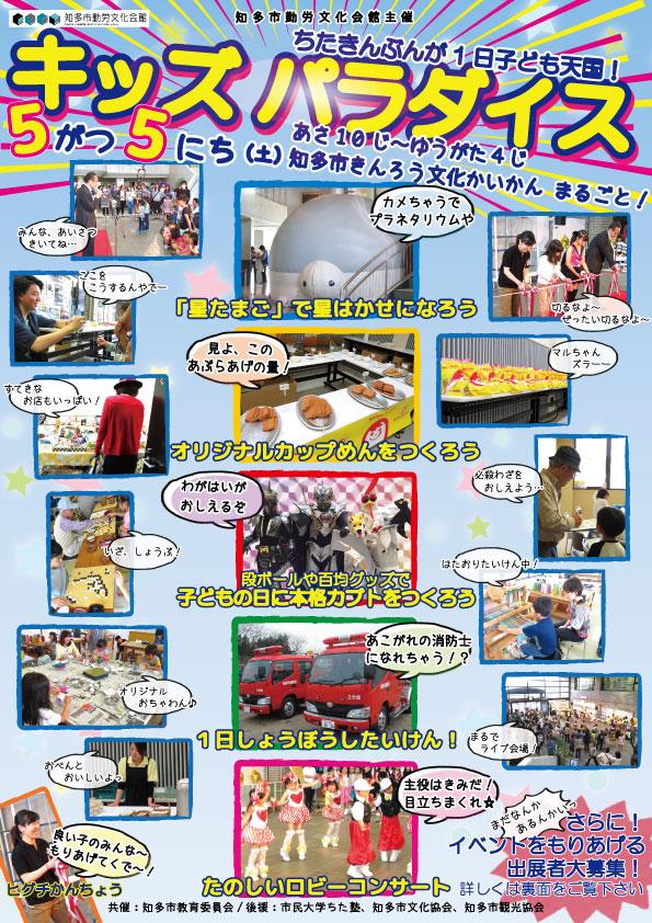 キッズ・パラダイス ~ちたきんぶんが1日子ども天国!~のイメージ